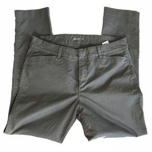 Old Navy Grey Pixie Chino Pants Sz 10